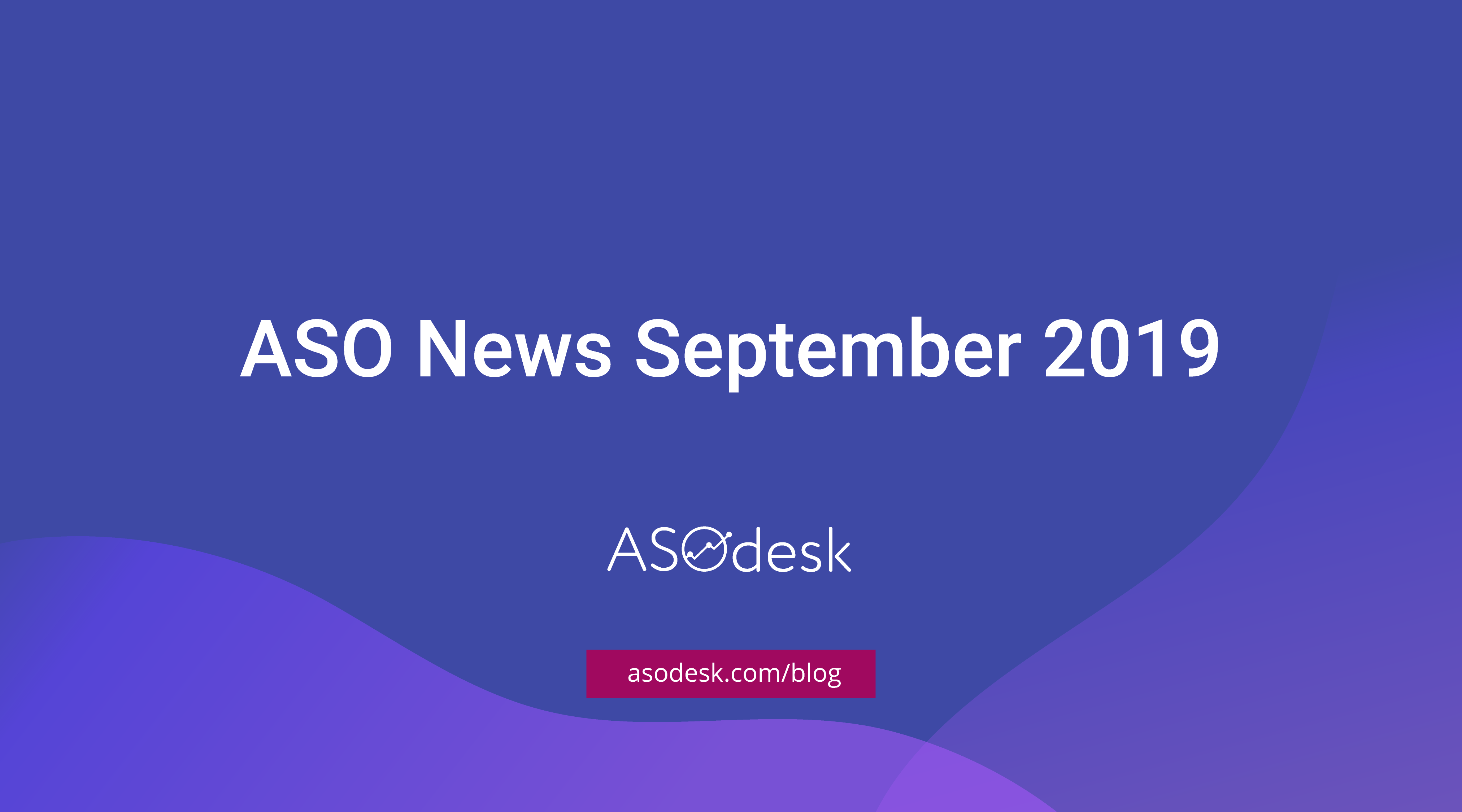 ASO News September