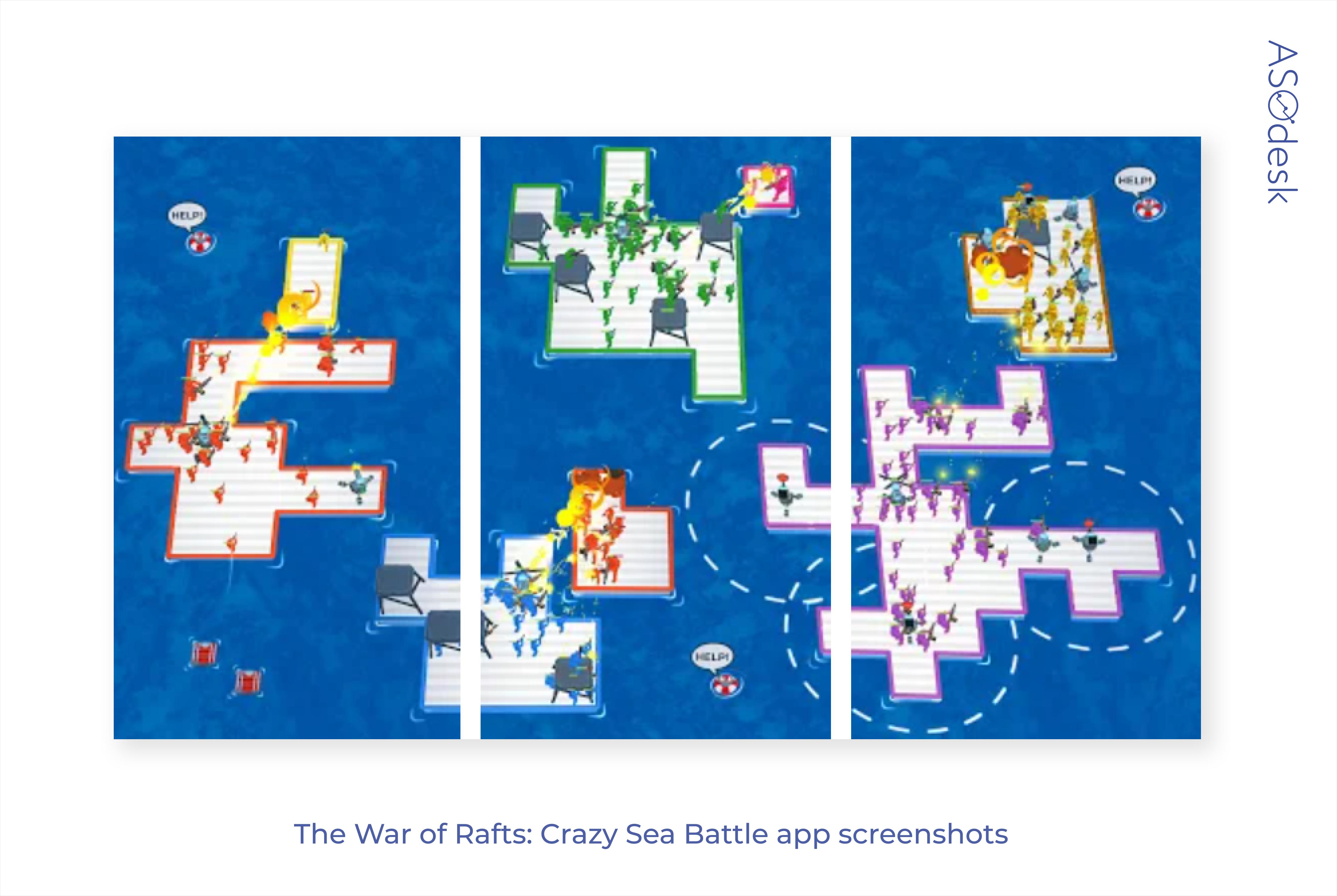 Gaming app screenshots