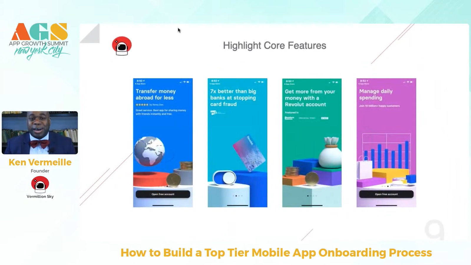 Core features of the app