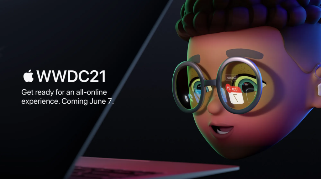 WWDC21 will take place online on June 7–11.