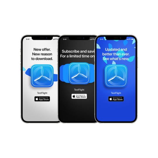 Banner generator is avaliable in the App Store