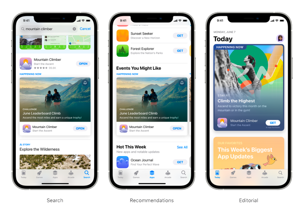 In-App Events in the App Store